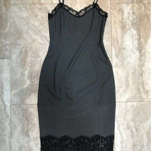 Zara TRF Lace Tight Lingerie Evening Dress